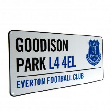 Everton Goodison Park Street Sign